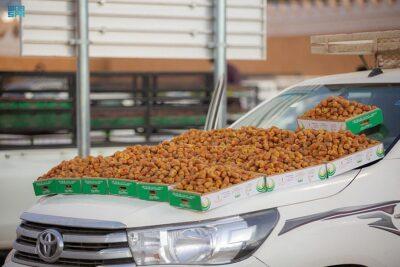 مهرجان بريدة للتمور يكشف عن كميات التمور الواردة للمهرجان