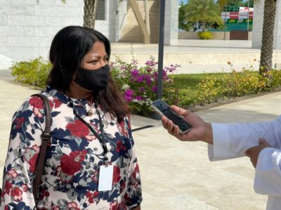 مستشارة الخارجية المالديفية السعودية بلد مميز وقدمت لبلادنا الكثير وجامع الملك سلمان جزء بسيط من عقد فريد