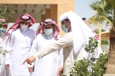 مدير مكتب وزارة البيئة والمياه والزراعة بحفرالباطن يستقبل مدير التعليم