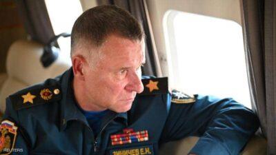 مصرع وزير الطوارئ الروسي بصورة مأساوية خلال تدريبات