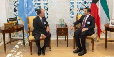 وزير الخارجية الكويتي يلتقي بنظيره النيبالي في نيويورك