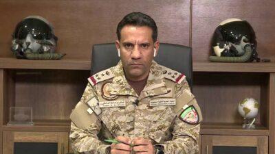 التحالف: اعتراض صاروخ بالستي أطلقته المليشيا الحوثية باتجاه جازان