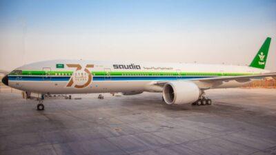 بالفيديو.. الخطوط السعودية تكشف عن طائراتها المشاركة في العرض الجوي لليوم الوطني