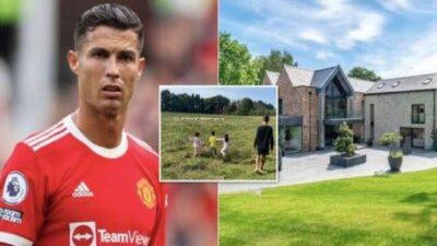 الأغنام تجبر رونالدو على تغيير منزله في مانشستر