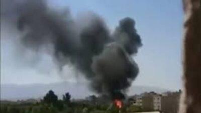 بالفيديو.. انفجار هائل في شارع مهراب بمدينة شيراز الإيرانية