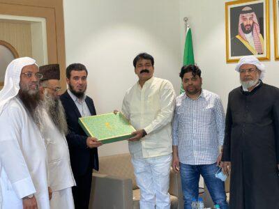 الملحق الديني بسفارة المملكة بالهند يلتقي وزير شؤون الأقليات في ولاية بهار