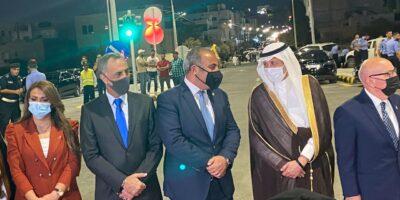 """الصندوق السعودي للتنمية يفتتح مشروع تقاطعات """"مرج الحمام"""" المرورية في العاصمة الأردنية"""