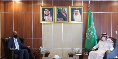 """""""آل جابر """" يبحث مع السفير الهولندي جهود ودعم المملكة لليمن واستكمال تنفيذ اتفاق الرياض"""