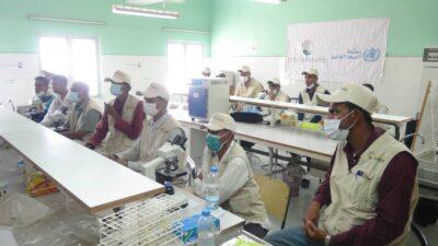 بتمويل من مركز الملك سلمان..  برنامح مكافحة الملاريا ينظم دورة لفني المختبرات
