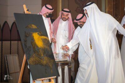الشاعر الأمير سعد آل سعود يضيئ سماء العروس شعرا