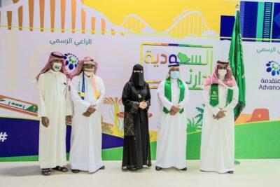 """افتتاح معرض """"السعودية دارنا"""" بمشاركة (32) فناناً تشكيلياً بالجبيل الصناعية"""