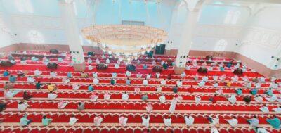 خطب الجمعة في عموم مناطق المملكة تتوحد للتذكير بالنعم المتوافرة التي تشهدها المملكة في ظل القيادة الرشيدة