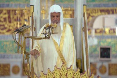 إمام المسجد النبوي: إن فساد عمل الإنسان يضر العامل ويدخل الفساد على الحياة