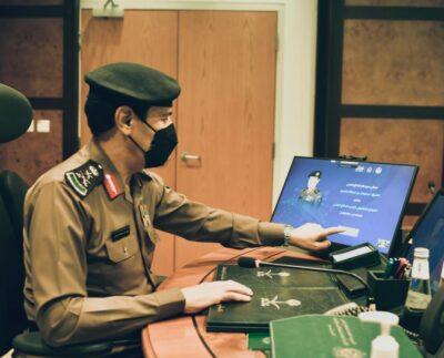 مدير عام الدفاع المدني يدشّن النسخة المطورة للموقع الإلكتروني للمديرية