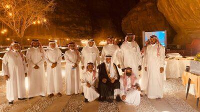 حفل تكريم وداعي لمحمد الخليفة مدير مكتب الضمان الاجتماعي بالعلا بمناسبة تقاعده