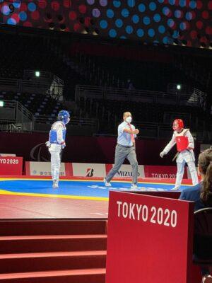 حكم التايكوندو غازي الغانم يتألق في طوكيو 2020