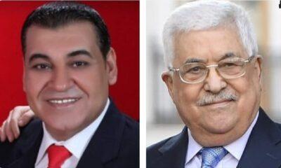 """الرئيس محمود عباس يأمر بعلاج الإعلامي """"بسام العريان"""""""