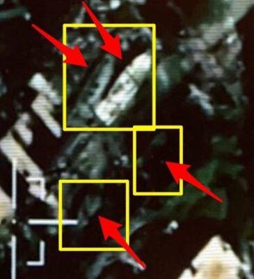 """""""التحالف"""" ينشر صوراً استطلاعية للزوارق المفخخة التي تم تدميرها في الحديدة"""