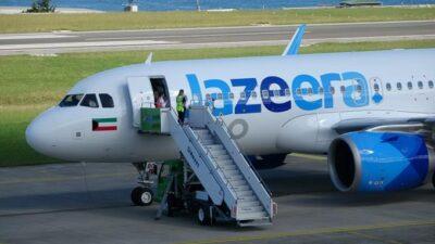 هبوط اضطراري لطائرة تابعة لطيران الجزيرة الكويتي بسبب وجود قنبلة.. والشركة توضح