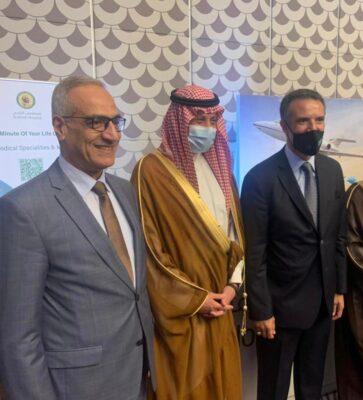 سفير خادم الحرمين لدى الأردن يشارك بافتتاح مؤتمر السياحة الاستشفائية الإقليمي السادس