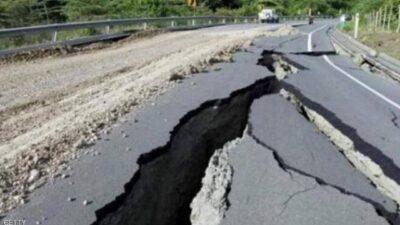 شاهد.. مقطع فيديو يوثّق اللحظات الأولى من زلزال اليابان