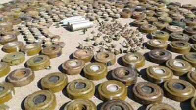 مسام ينتزع أكثر من 1200 لغم حوثي في اليمن خلال أسبوع