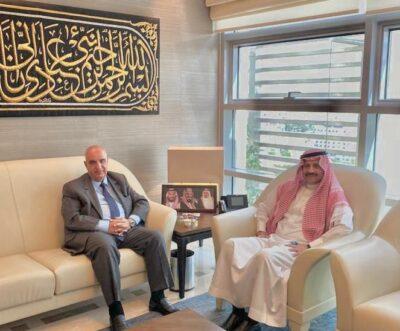 سفير خادم الحرمين الشريفين لدى الأردن يلتقي رئيس لجنة الأخوة الأردنية السعودية بمجلس النواب الأردني