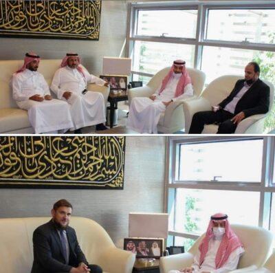 سفير المملكة لدى الأردن يستقبل السفير البولندي  ووفدا فنيا من وزارة الزراعة