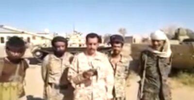 """بالفيديو ..قائد كتيبة """"سلمان"""" بمحور عتق يفجر مفاجأة جديدة عن خيانة سلطة الإخوان بشبوة"""