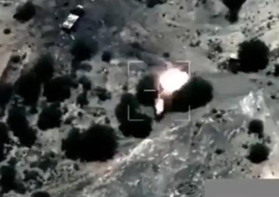 مشاهد من الاستهدافات التي نفذتها مقاتلات التحالف على الميليشيات الحـوثية في العبدية