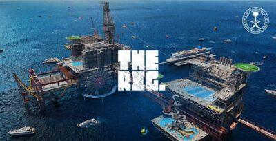 """""""صندوق الاستثمارات"""" يطلق مشروع """"THE RIG."""" الوجهة السياحية الأولى من نوعها في العالم"""