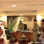 بالصور.الشيخ العتيبي يفتتح مكتب تحفيظ القرآن الكريم بالحفاير