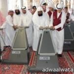 خادم الحرمين يغادر ولله الحمد مدينة الملك عبدالعزيز الطبية للحرس الوطني- فيديو