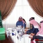 امير منطقة تبوك يلتقى نائب رئيس هيئة السياحة والاثار للمناطق