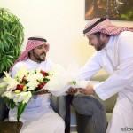 """""""الصالح"""" يقيم حفل غداء على شرف المنتخب السعودي لكرة القدم للناشئين"""