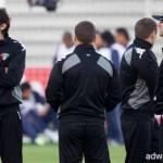 لاعبو المنتخب العراقي يعربون عن تفائلهم باجتياز عقبة البحرين