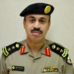 قائد وحدة أمن ميناء الملك فهد الصناعي بينبع يقلد الزهراني رتبته الجديده