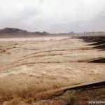 هطول أمطار على منطقة الحدود الشمالية
