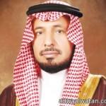 الأمير مساعد بن عبدالعزيز على السرير الأبيض