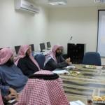 مدير تعليم حائل  يدشن الخطة التنفيذية للبرامج التدريب التربوي للفصل الثاني