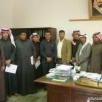 معالي مدير جامعة المجمعة يفتتح العيادات التخصصية بالمركز الطبي