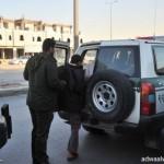 سرقة سيارتين داتسون ولاندكروزر ملك رئيس المجلس البلدي بالدوادمي في يوم واحد