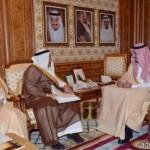 رئيس مركز حوطة سدير يفتتح أسبوع المرور الخليجي الموحد