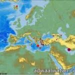 الطقس : رياح سطحية مثيرة للأتربة والغبار تحد من مدى الرؤية الافقية على مناطق شمال المملكة