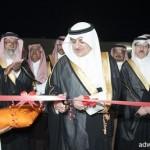 الأمير فهد بن سلطان يدشن مشروعات البلديه والصحه بالبدع