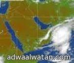 أمطار غزيرة على  محافظة خيبر والثمد والعشاش والحصن ومحافظة العلا