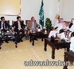 امير منطقة تبوك يتراس اجتماع لجنة الحج والعمرة