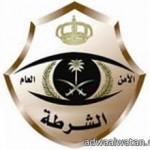 أصابة شخص في حادث انقلاب جيب  شاروكي بتبوك