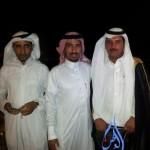 الشيخ : العود النور يحتفل بزواج أبنائه (سعود – فهد – عبدالعزيز )