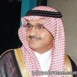 نائب وزير الدفاع يقوم بزياره تفقديه لقيادة المنطقه في محافظة خميس مشيط